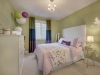 Bedroom in Celebration Homes single family showhome at Starling at Big Lake
