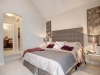 Master bedroom in Celebration Homes single family showhome at Starling at Big Lake
