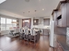 Kitchen in Celebration Homes single family showhome at Starling at Big Lake