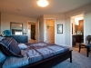 Master bedroom at Kirkland Master Builders Single Family showhome at Starling at Big Lake