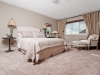 Master bedroom inside Rohit Communities Duplex showhome at Starling at Big Lake
