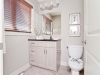 Ensuite Bathroom in Rohit Communities Duplex showhome at Starling at Big Lake