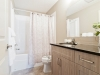 Bathroom in Rohit Communities Duplex showhome at Starling at Big Lake