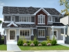 Exterior rendering of Rohit Communities Maddox duplex at Starling at Big Lake